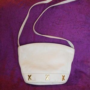 Paloma Picasso Vintage White Leather purse